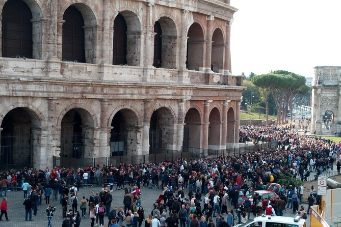 This impressive Shore Excursion touches the most significant highlights of Rome and Vatican City:<br>• Trevi Fountain<br>• Spanish Steps<br>• Venice Square and the Wedding cake<br>• Roman Forum<br>• Colosseum<br>• Arch of Constantine<br>• Circus Maximus<br>• Pantheon<br>• Campo de Fiori Square<br>• Vatican Museums and Sistine Chapel<br>• St. Peter's Basilica Square<br>Lunch, Skip-the-line tickets to the Colosseum and Vatican Museums are included in Private Tour option.<br>Upgradable with local licensed tour guide in Private option.<br>Pickup and Dropoff your ship. <br>Private or Shared Tour available options.<br><br>Worry-free Shore Excursion: <br>We will ensure your timely return to Cruise Port for this activity. In the rare event your ship has departed, we will arrange for transportation to the next port-of-call. See terms and conditions for full details.