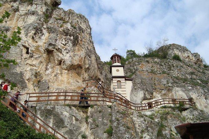 This is a one-day slow sightseeing tour by car starting from Sofia, Bulgaria to the region of Rousse on Danube River. You will visit the following places and will stay there enough time to fully enjoy the area: The Rock-Hewn Churches of Ivanovo – a UNESCO-protected landmark, situated on the territory of Rusenski Lom Nature Park; The Monastery of Saint Dimitar Basarbowski, a Bulgarian-orthodox cave monastery and the city of Rousse on Danube River, often called the Little Vienna. The tour will start and finish at your accommodation in Sofia.