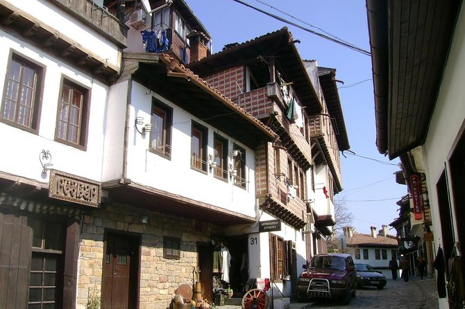 """This is a one-day slow sightseeing tour by car starting from Sofia, Bulgaria to Veliko Turnovo, one of the oldest towns in the country. You will visit the following places and will stay there enough time to fully enjoy the area: the old town; the medieval fortress Tsarevets; the temple """"St. Forty Holy Martyrs"""" and some other temples nearby; the architectural reservation Arbanasi. The tour will start and finish at your accommodation in Sofia."""