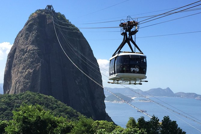 Half-day tour to visit Christ the Redeemer and Sugar Loaf, Rio de Janeiro, BRAZIL