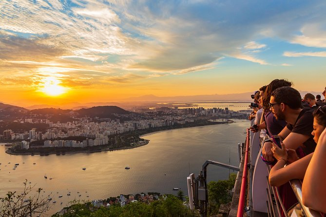Spend an amazing afternoon visiting the best of Rio: Christ The Redeemer Statueatop Corcovado Mountain, Sugarloaf Mountain, Selarón Steps,and the Metropolitan Cathedral. You will finish with a cable car ride to the top of Sugarloaf Mountain, where you get one of the city's most beautiful panoramic views and a chance to admire the sunset.Includes roundtrip transportation.