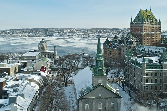 Christmas Magic in Old Quebec, Quebec, CANADA