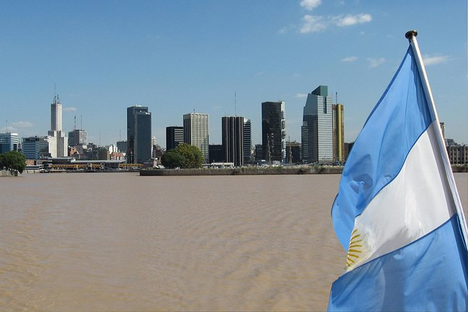 Buenos Aires Sightseeing Tour and Navigation by Río de la Plata, Buenos Aires, ARGENTINA