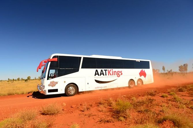Sit back, relax and enjoy your luxury coach transfer from Kings Canyon Resort to Alice Springs.