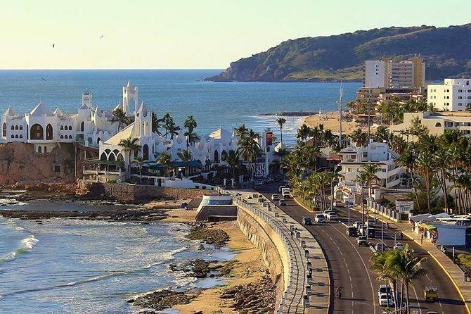 Don't miss this tour while you're in Mazatlan! Enjoy the most important areas of the town, while also enjoying the famous beaches on Stone Island! Don't forget to bring your camera for pictures and remember your beach activities are included.