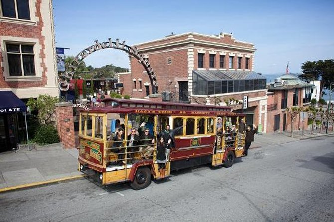 San Francisco Cable Car City Trolley Tour From Fishermans Wharf, San Francisco, CA, ESTADOS UNIDOS