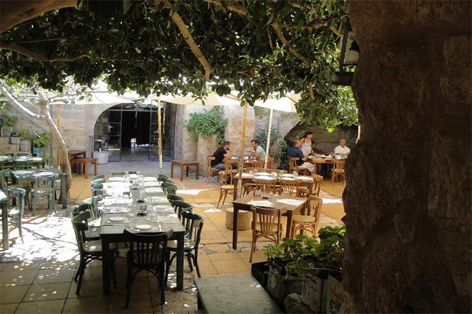 This 4-hour private lunch or dinner is a great opportunity for yourself and your loved one to enjoy a delicious meal at the amazing Haret Jdoudna in Madaba, Jordan. You will relish a wide selection of traditional Jordanian and Levantine cuisines. Round-trip transportation from your hotel with a driver is included.