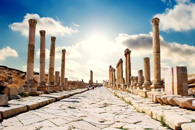 The North tour of Jordan is a step back into time. Your driver will meet you at the hotel lobby or other mutual agreed location at 8 am to start your day to the rich terrain of Jordan. It is a full-day tour so be sure to have your walking shoes and camera ready.