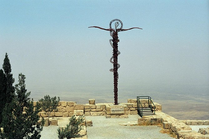 Discover the ancient jewels in Jordan's crown on this private Mount Nebo, Madaba and Dead Sea day trip from Amman. Visit St.George's Church in Madaba and learn of the city's rich history. Enjoy panoramic views over the Jordan Valley from the top of Mount Nebo, and admire ancient relics and mosaics in a Franciscan monastery. Then, soak up the sunshine and enjoy free time to swim in the Dead Sea's salty waters and have a traditional buffet lunch.
