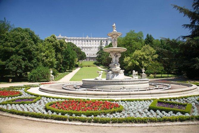 Acceso temprano al Palacio Real de Madrid, Madrid, ESPAÑA
