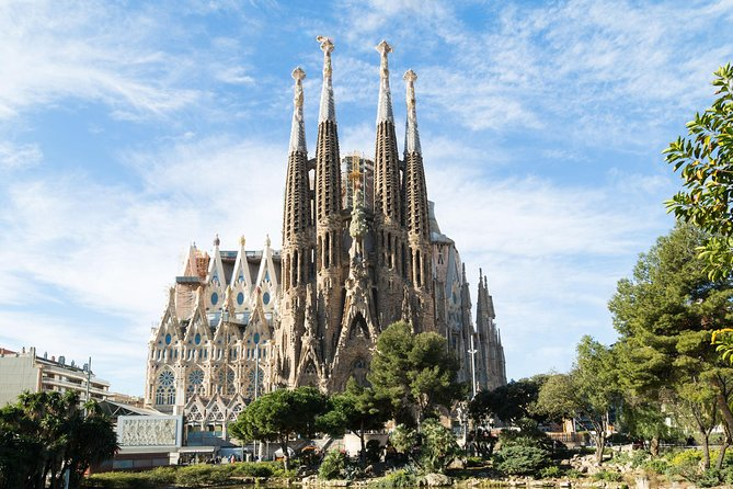 Visit theinside of La Sagrada Familia in Barcelona with this morning tour. Head inside the famously unfinished church, designed by the great Catalan architect Antoni Gaudí, and discover the secrets behind this building. Check out the tree-like columns, rich decoration and stained glass windows; admire the religious symbolism of the facades; and learn about the history of this UNESCO World Heritage Site from your guide. Upgrade your ticket to include access to the tower.