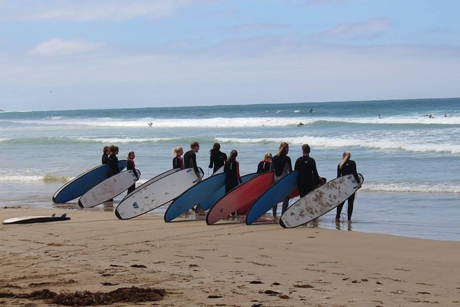 Take a surf lesson in the Great Ocean Road's beautiful Great Otway National Park just past Anglesea. The lesson runs for two hours and includes all the equipment and instruction. You will learn about surf safety, awareness and the right skills to ensure you have a fantastic time. All you need to do is supply bathers and a towel and be ready for an unforgettable time!