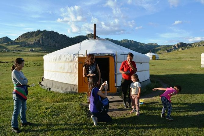 This 3-day tour covers the most popular attractions of Mongolia and provides you with comfort and peace of mind. Book this trip to immerse yourself in Mongolian nomadic culture and explore spectacular landscapes. You will visit Hustai National Park, Wild Horse Park, Bogd Khan Mountain National Park, Terelj National Park, and Genghis Khan's Statue Complex during the tour as well as visiting nomadic families!