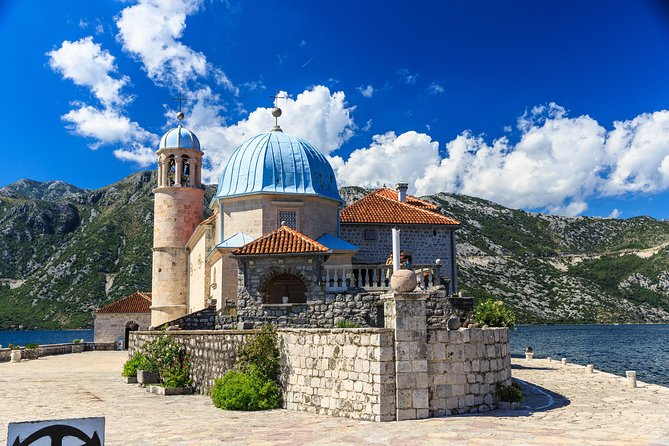 Enjoy a 4-hour private tour of Boka Bay, where you first visit baroque town Perast. Follow your private guide to see Our Lady of the Rocks island with a church and a museum (admission included). Visit the medieval town of Kotor and its splendid old buildings, hear the stories and legends about its past. Travel in comfort with private transportation including hotel pickup and drop-off and stunning photo stops along the way.