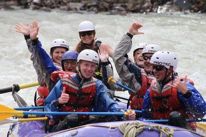 3.5-Hour Sunwapta River Rafting Adventure in Jasper, Jasper, CANADA