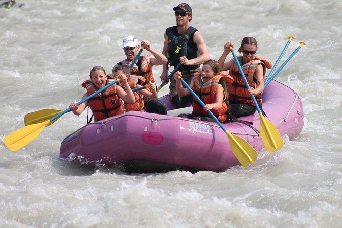 Jasper Rafting Athabasca Canyon Run, Jasper, CANADA