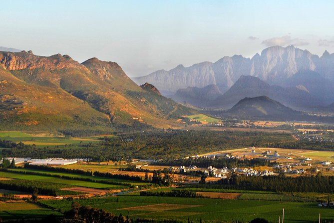 Whether you're a wine connoisseur or a lover of natural beauty you'll be swept away on this wine tour to the famous Stellenbosch, Paarl Valley and Franschhoek wineries. Combining historic villages, stunning scenery and fabulous wines, this day trip will have your senses working overtime!