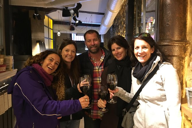 Come discover abeautiful city and the amazingBasque cuisine on our 3-hour 'pintxos' (Basque tapas) tour of Bilbao. Experiencethe 700 year oldstreets of the Old Town with a professional localguide who is an expert in the Bilbao culinary scene. We will visit5 bars and sample pintxo styles ranging from traditionalto modern. Yourguide will pair each tasting with an excellent wine that compliments the pintxo. Wines that we recommend include red wine from La Rioja, Txakoli (a lightly sparkling white wine from the Basque Coast), and more!