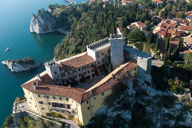 The Giant Cave and Duino Castle from Trieste, Trieste, ITALIA