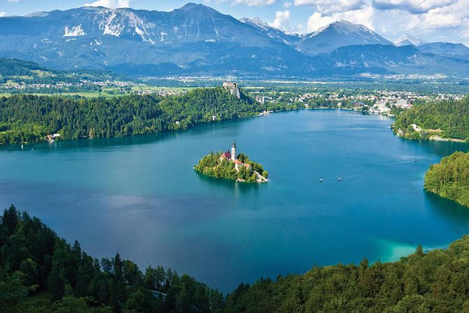 Visit the charming Ljubljana, the capital city of Slovenia, and Bled, a popular tourist destination, which is considered one of the most beautiful alpine resorts also known as the Alpine pearl.