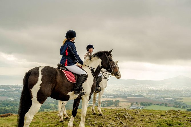 Enjoy horse riding in the Wicklow Mountain National Park on this day tour from Dublin. <br><br>The horse ride is approx 2hrs and part of this day tour.