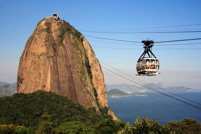 Spend the morning at Sugar Loaf Mountain, one of Rio de Janeiro's most famous icons. You'll take a breathtaking ride in a cable car to the top of the Sugar Loaf for panoramic views of one of the world's most beautiful cities. This morning tour takes you to one of Rio's most famous attractions and also includes a scenic tour of the city.