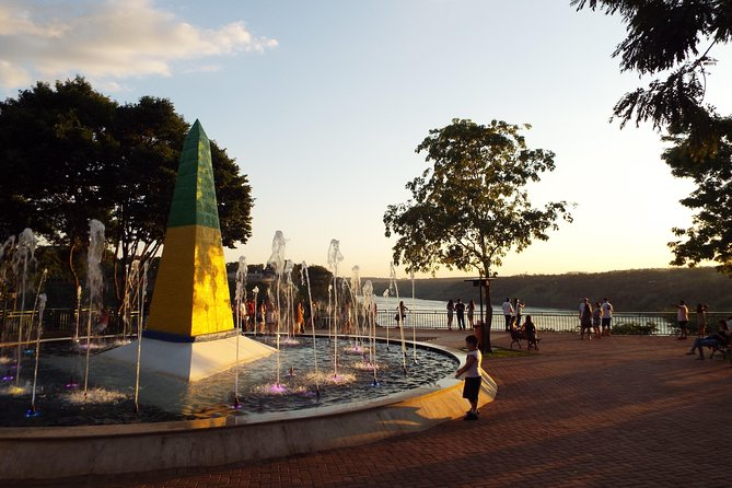 Visit the Landmark of Brazil's frontier with Paraguay and Argentina and see there the other countries landmark across the border, right where Iguassu River meets Paraná River. Learn the history of these countriesand contemplate the Landmark.