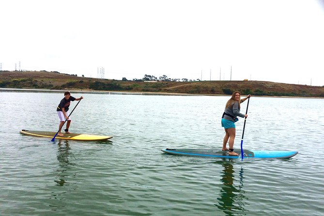 Stand-Up Paddleboard Adventure Lesson in Carlsbad, Carlsbad, CA, ESTADOS UNIDOS