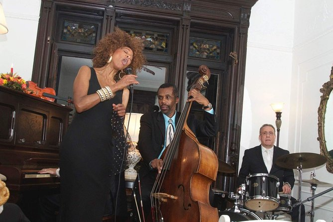 Enjoy a jazz concert in a 19th-century, Brooklyn brownstone house. 'Remembering When' is a celebration of music in the heart of Brooklyn's historic Bedford–Stuyvesant neighborhood, where jazz reigned in the 1930s. Enjoy live music performed in an intimate setting plus fish fry late meal and open-mic session. BYOB