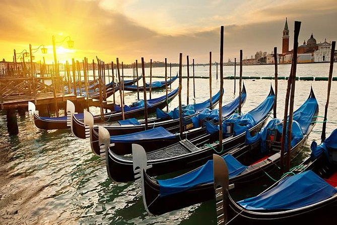 Discover Venice with a shared 30-minute gondola ride. Choose among several departure times and see Venice's hidden canals and historic palaces.