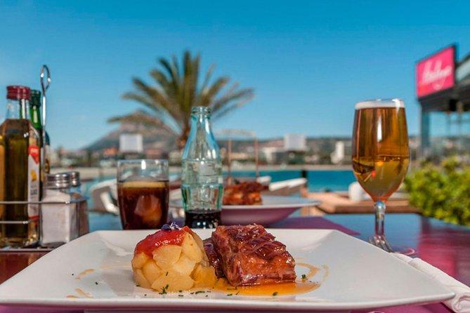 Javea: Paseo en Barco a Cala Granadella con Paella a Bordo y Cena en la Playa, Benidorm, ESPAÑA