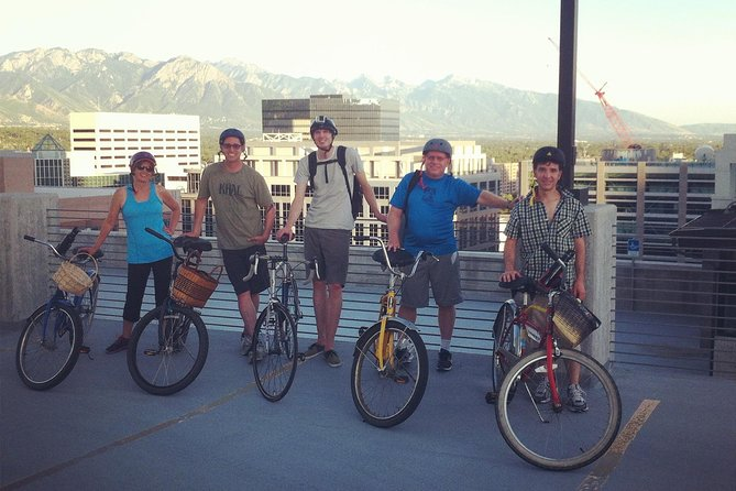 Get a comprehensive look at Salt Lake City with the Big City Loop Tour, an exploratory, 3-hour bicycle ride at the 'Crossroads of the West.' Groups will ride bikes to all points of interest in the greater Downtown Salt Lake City area, both historical and current. Make multiple stops along the way for breaks, photos, and good old rest. Questions are fielded by a personal, friendly, and locally based tour guide. Stopping for a bite to eat is always an option. Use of a bicycle and helmet are included.