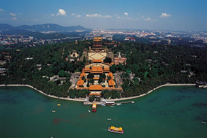 This private day tour is a comprehensive introduction to the most popular attractions in Beijing. Spend a day exploring Tian'anmen Square, Forbidden City, Temple of Heaven and enjoy a boat ride at the Summer Palace. See Beijing's famous Olympic stadiums, the Bird's Nest and the Water Cube. The package includes transportation to and from these popular landmarks and a delicious lunch of Peking Roast Duck.