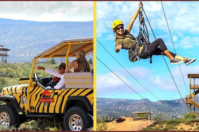 Camp Verde Off-Road Jeep and Zip Line Experience, Flagstaff, AZ, ESTADOS UNIDOS