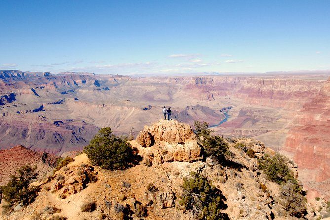 See it all on this full-day Grand Canyon tour from Flagstaff. This tour combines a visit to Ancient Sinagua Pueblo Ruins, Sunset Crater and its Lava Fields, the majestic Grand Canyon's South Rim. Hotel pickup and drop-off, lunch and bottle water is included.