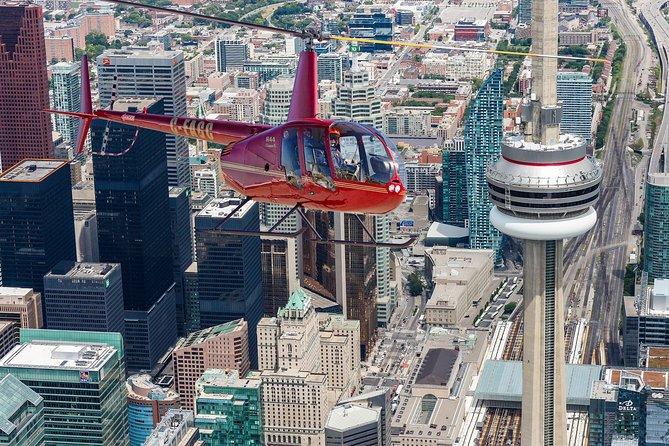 14-Minute Helicopter Tour Over Toronto, Toronto, CANADA
