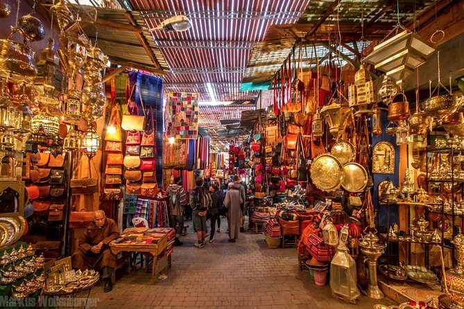 Visit Marrakech while you're in Casablanca, and discover the historic sights and glittering ancient landmarks,explore the main hidden wonders among the winding alleys of Marrakech's Medina.PerceiveBahia Palace, Koutoubia Mosque and Djemâa El Fna square UNESCO World Heritage Site, and enjoy seeing the craftsmen working before exploring the souks. Discover one of the famous Morocco's imperial city and immerse yourself in the thriving culture and impressive history of Marrakech.providing a typical Moroccan lunch with locals and Free Camel Ride Experience.<br><br>Start this wonderful day-trip with long-lasting memories!