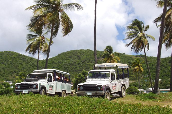 Experience the island by Land Rover jeeps, as you are guided by a knowledgeable tour guide. You'll learn all about Antigua's history and make a stop at Long Bay Beach to relax, refresh or work on your golden tan.