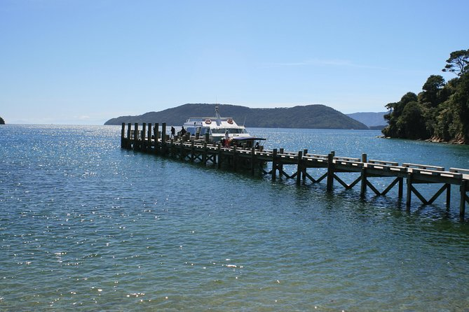 Experience 'The Ultimate Marlborough Day Out', on this full day, small group tour. <br><br>In the morning enjoy a scenic cruise through the Queen Charlotte Sound, aboard a catamaran and get to see the historic Ship Cove, where Captain Cook anchored way back in 1770. Returning to shore around 12.30pm, you will then be taken to a winery to have a single main course lunch with a glass of wine of your choice. <br><br>After lunch you will get to visit a couple more wineries with a chance to try some more of the wines produced here. This is while you are relaxing, savouring and enjoying this beautiful Marlborough region.