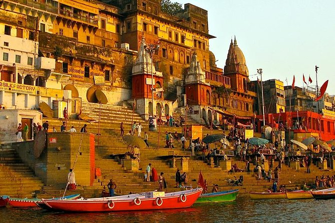Varanasi is one the sacred places of India and one of the most visited tourist destinations in North India. It holds a special and much higher place according to Hindu customs and beliefs. It represents a perfect blend of physical, philosophical and supernatural elements. It is considered as a place where the soul can attain ultimate peace. <br><br>Highlights of Tour : <br> • Attend the Grand Aarti Ceremony <br> • Stroll around the lanes of Varanasi <br> • Visit Mulagandha Kuti Vihar, Dhamek Stupa, Sarnath Museum at Sarnath <br> • Explore Benaras Hindu University <br> • Visit Kashi Vishwanath temple, Durga temple and Tulasi Manas Temple in Varanasi <br><br> Covering Many Points including Tours to Banaras Ghats, Assi Ghat, Dasaswamedh Ghat, Manikarnika Ghat, Banaras Hindu University, Golden Temple (Kashi Vishwanath), Monkey Temple (Durga Temple) and other Mentioned Places in the Trip.