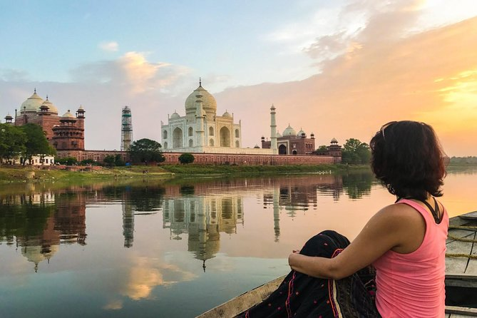 Guided Trip Tajmahal and Agra Fort with Tour Guide & Transports From New Delhi, Agra, Índia