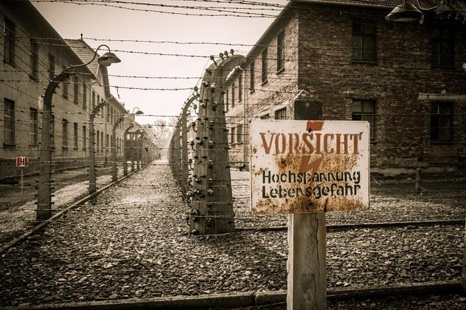 - Tickets to the Auschwitz-Birkenau Museum included<br>- Pick up dropp-off from your hotel/apartment<br>- Skip the line in Auschwitz<br>- Lunch included<br>- Guided tour in Krakow<br>- Highly experienced touroperator specializing in Holocaust, WWII, Jewish-related tours