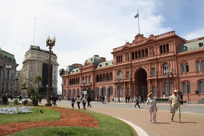 Customize your very own private city tour in Buenos Aires with a duration and departure time that best suits your preferences. Visit some of the city's most appealing attractions, such as La Recoleta Cemetery, San Telmo,, with your very own private guide. Hotel pickup and drop-off in Buenos Aires are included.