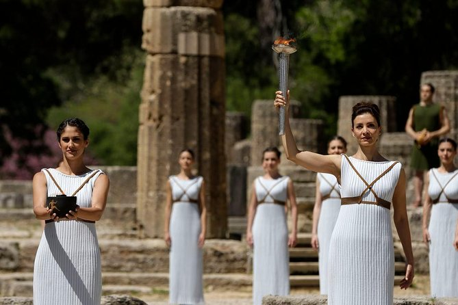 Be inspired by the birthplace of the Olympics, a UNESCO World Heritage Site, on this 4:30hour private tour from Katakolon port to Olympia with personal guide and separate driver. See the Temple of Zeus, the Temple of Hera, and key sites of the ancient Games, view highlights of the Archaeological Museum of Olympia, and maybe fit in a little shopping as well.