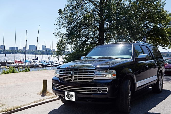This 5-hour private tour provides you with a luxury SUV with space for 4 people, snacks, drinks and more. Door to door service, pickup and drop-off when you want and anywhere in central Hamburg. Prices are per car. There are two major historical cities with several stops to see on this trip.