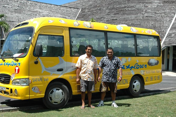 Avoid the worry of finding a taxi at Moorea Airport (MOZ), or the ferry pier, to get to your hotel. Enjoy peace of mind and prebook this convenient shared transfer service with a professional driver. Transfers are available for all flights arriving at Moorea Airport (MOZ) and all ferries arriving at the Moorea pier.<br><br>Please note that for tours/transfers on Mondays and Week-End days, bookings must be made at the<br>latest 72hours before.<br>If not, the tour/transfer may not be available due to process delay....