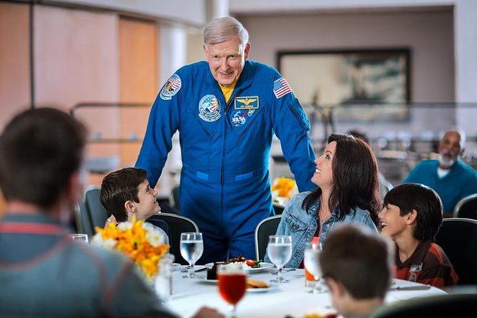 Kennedy Space Center Ultimate Experience: Dine with an Astronaut and Up-Close Tour with Transport from Orlando, Orlando, FL, UNITED STATES