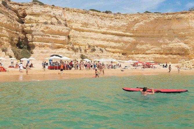 Crucero de avistamiento de delfines de medio día por el Algarve desde Albufeira con almuerzo barbacoa en la playa, Albufeira, PORTUGAL
