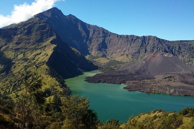 Embark on a 2-day guided hike to the top of an active volcano on this trekking tour from Lombok. Climb to the top of Mt Rinjani, hike around the Senaru crater rim, and enjoy a spectacular sunset view of Mt Agung. This small-group tour includes hotel or airport transfers from Lombok, two nights hotel and camping accommodation, and meals. No climbing experience is necessary.