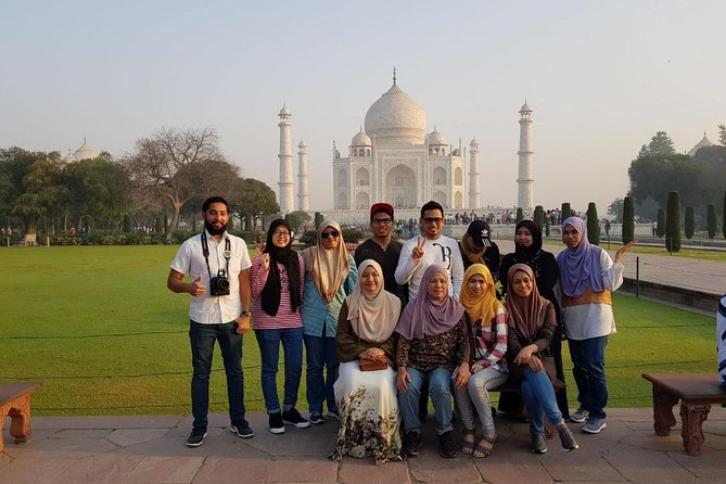 With this tour you will get the chance to explore Taj Mahal and other monuments of Agra in one day. Explore Taj Mahal in one day from Delhi and return back by India's fastest train – Gatimaan Express Train. You will visit Taj Mahal, Agra Fort, Etimad-Ud-Daulah (Baby Taj) and Mehtab Bagh (Sunset Point).